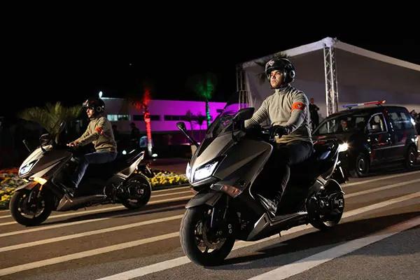 الى كل الشباب الراغبين في التوظيف بالاسلاك الشرطة 2020 - حول مباريات التوظيف بالامن الوطني 2020 Motard10