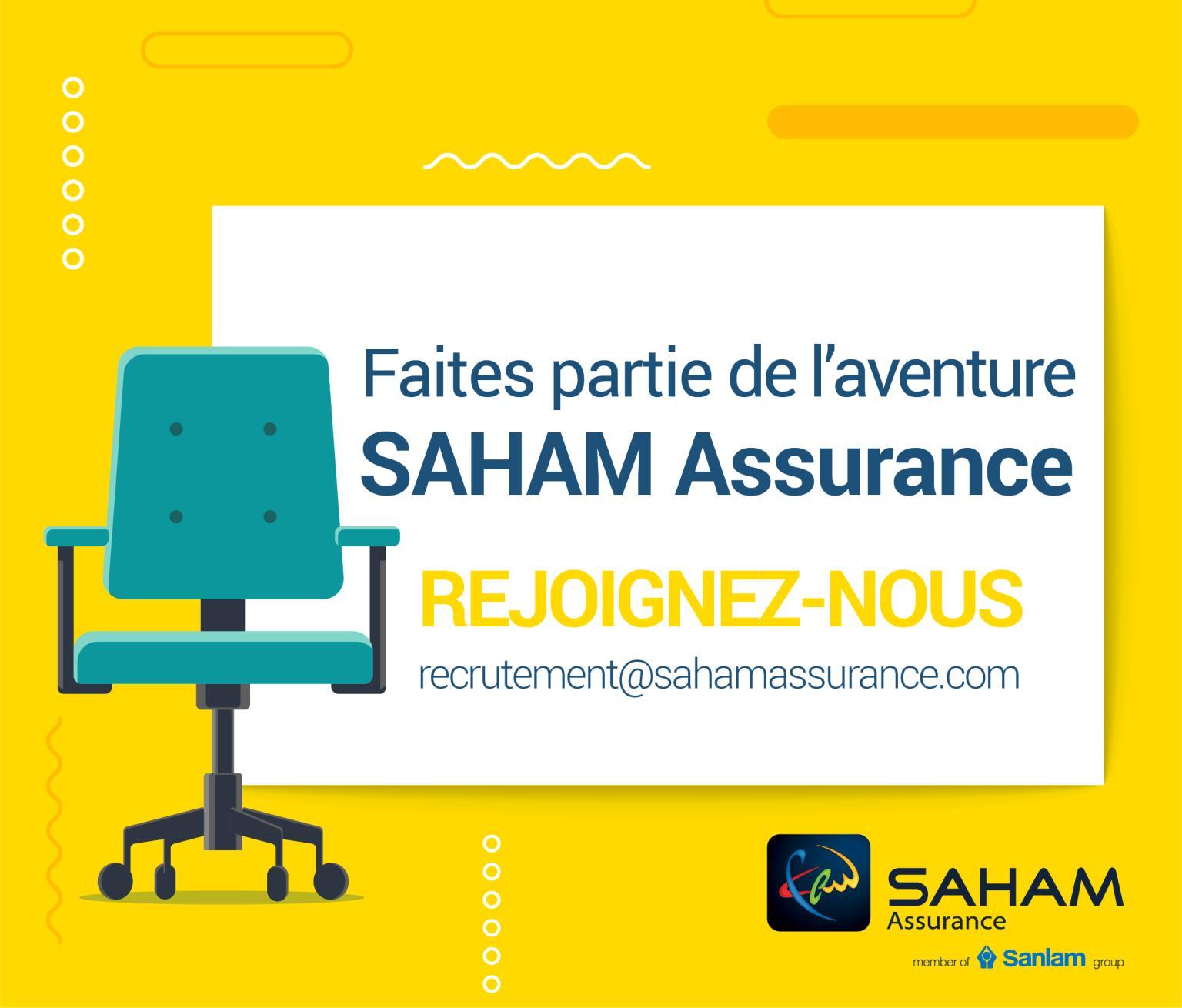 شركة تأمين مغربية سَهام للتأمين تعلن عن التوظيف في عدة مناصب  Saham_10