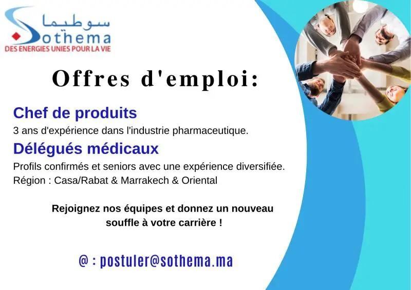 سوطيما شركة مغربية للصناعات الصيدلية توظيف في العديد من المناصب Sothem10