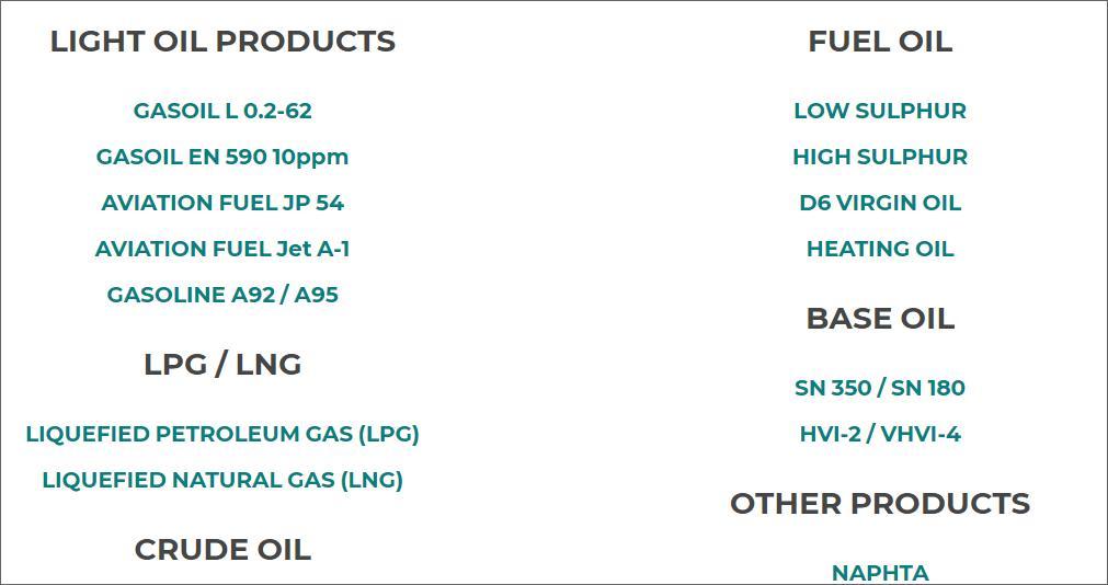 Petroleum Offer for buyer   00111110