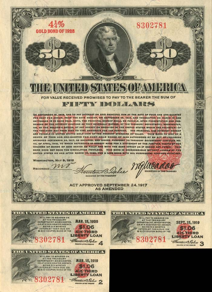 U.S. Treasury Notes and Bonds. 50_dol12