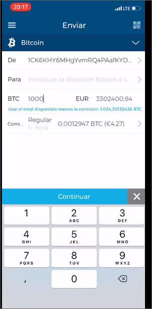 Offer   bitcoins  BTC   54541211