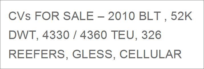 Portacontenedores:  for buyer   54545411