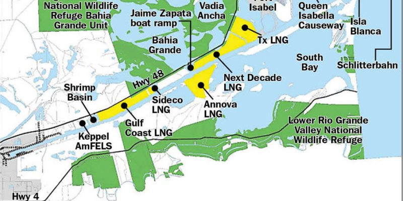 South Texas to become third largest exporter of LNG Extern10