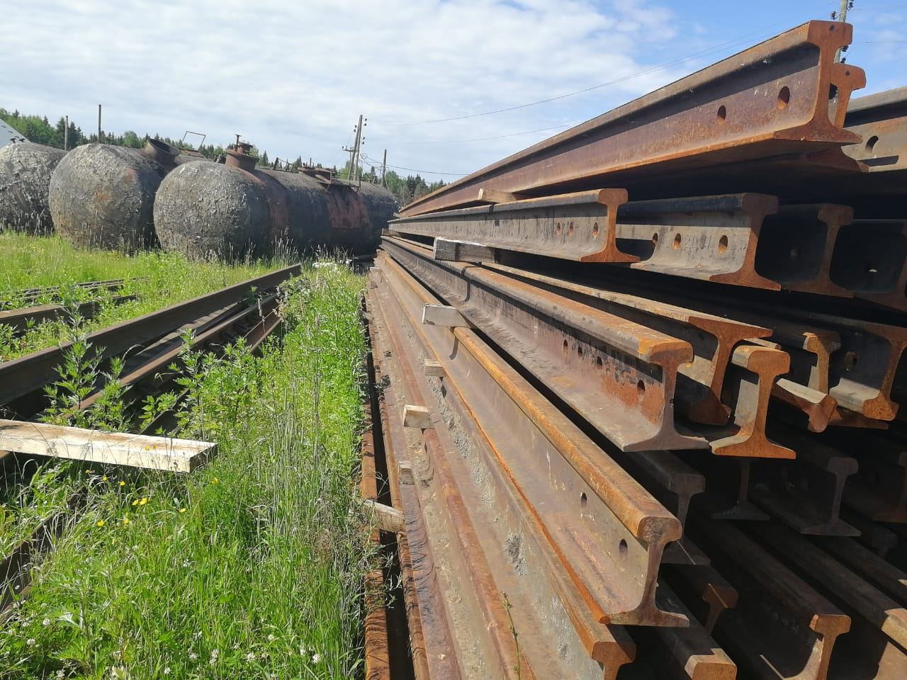 Offer  USED RAILS  , USED NEW  ,  Img-2039