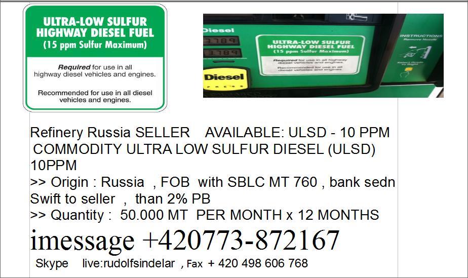 Offer ULSD  Russia  Offer_10