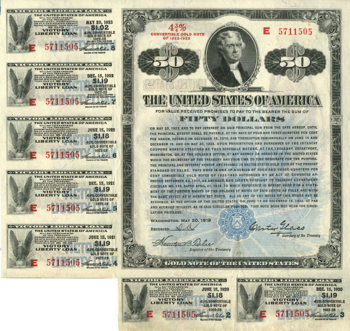 U.S. Treasury Notes and Bonds. Vic_5010