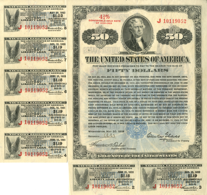 U.S. Treasury Notes and Bonds. Vic_5011