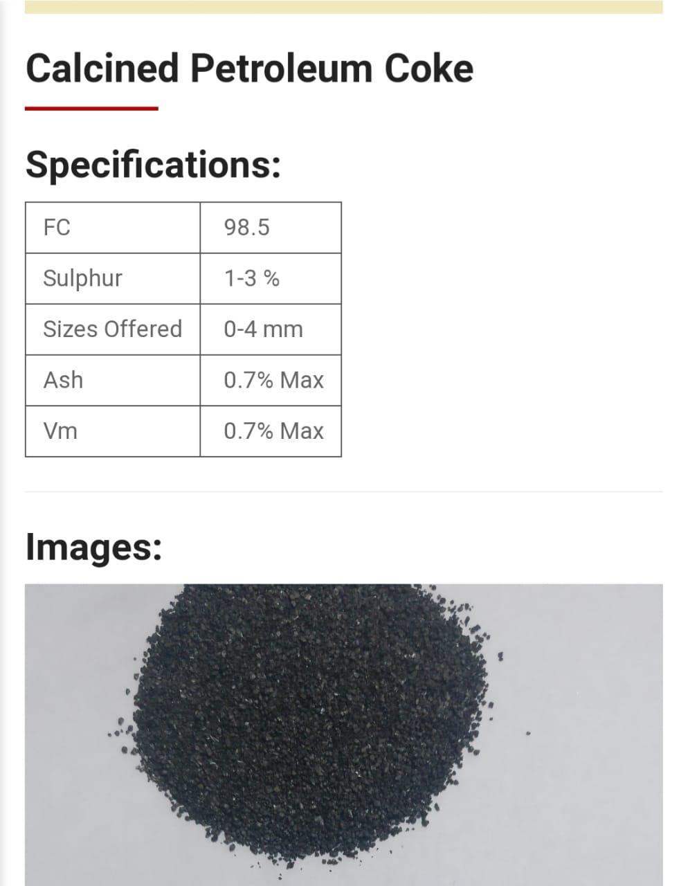 Petroleum Coke  Whats181