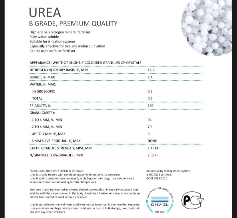 Offer UREA  FOB   Whats258