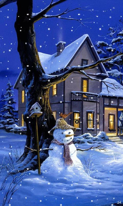 Belles images paysages hivernal  37f50d10