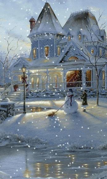 Belles images paysages hivernal  5639fe10