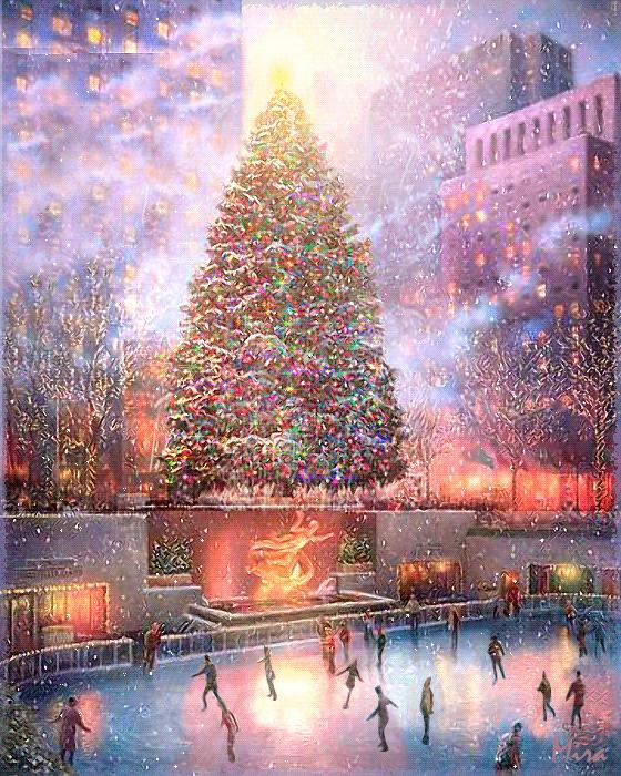 Belles images paysages hivernal  56a4b810