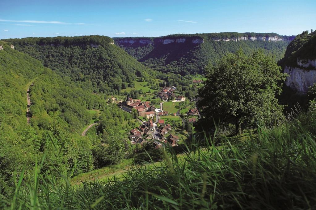 Les plus beaux villages de France  Baume-14