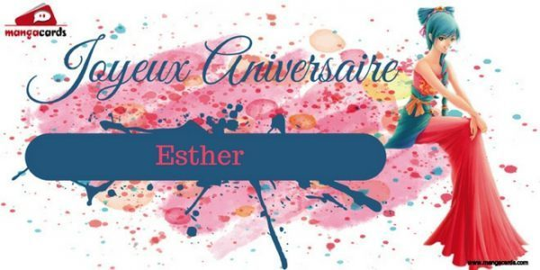 BON ANNIVERSAIRE ESTHER Carte-10