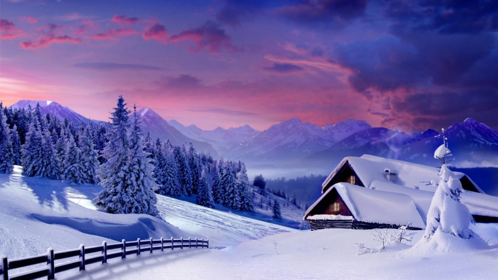 Belles images paysages hivernal  - Page 3 Saison10