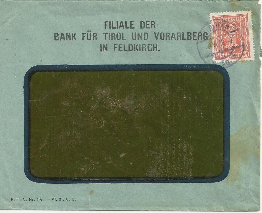 Inflation in Österreich - Belege - 1918 bis 1925 - Seite 16 Bild10