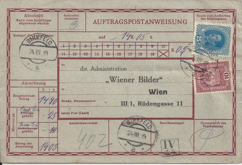 Inflation in Österreich - Belege - 1918 bis 1925 - Seite 16 Bild11