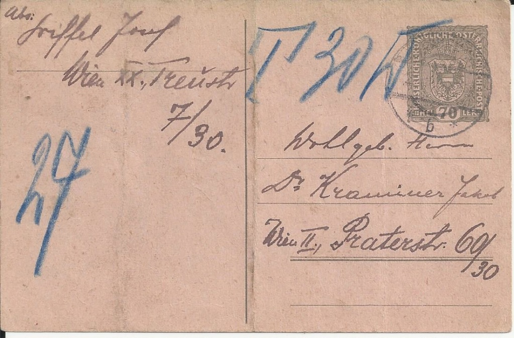 Inflation in Österreich - Belege - 1918 bis 1925 - Seite 21 Bild128