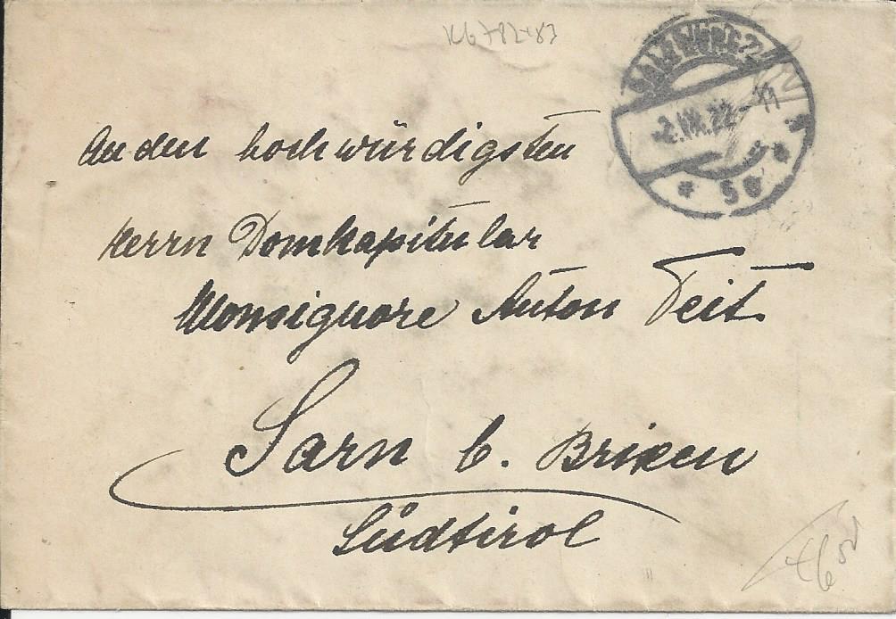 Inflation in Österreich - Belege - 1918 bis 1925 - Seite 21 Bild138