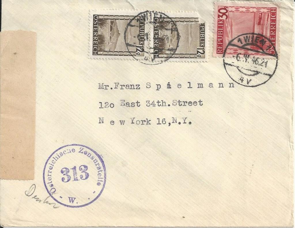 Sammlung Bedarfsbriefe Österreich ab 1945 - Seite 13 Bild139