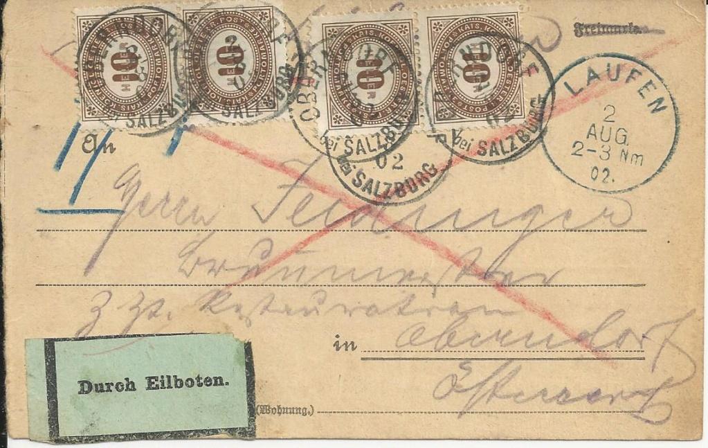 Die Portomarken des Kaiserreiches Bild145