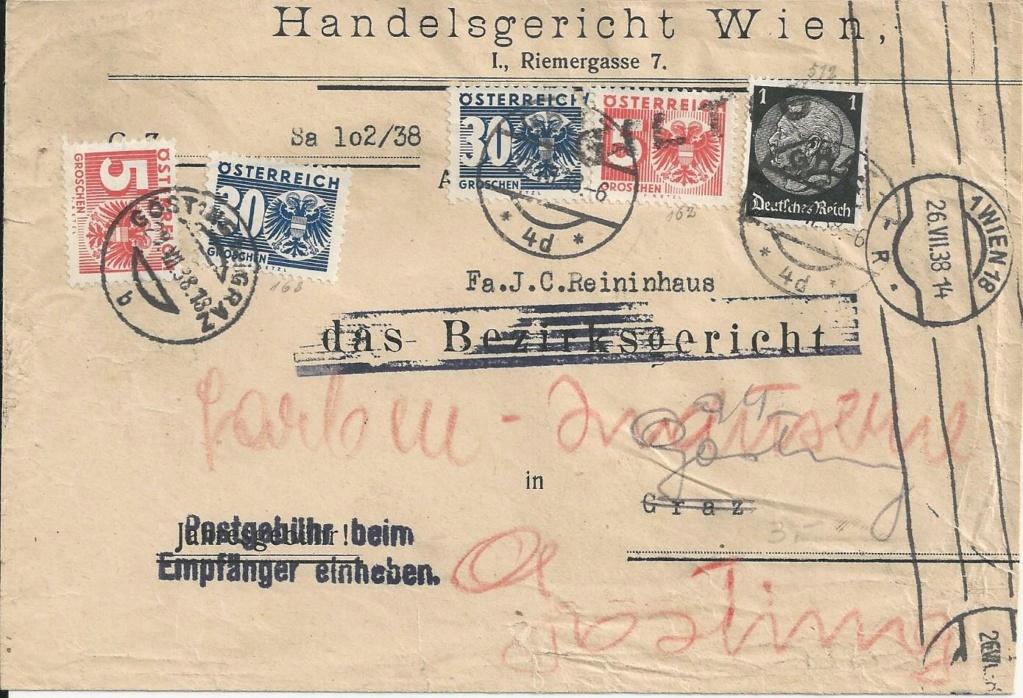 Österreich im III. Reich (Ostmark) Belege - Seite 17 Bild152