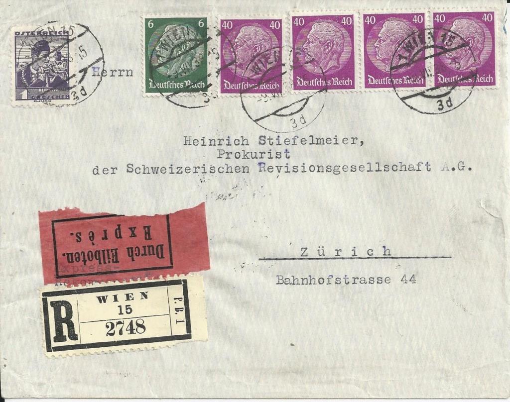 Österreich im III. Reich (Ostmark) Belege - Seite 17 Bild154