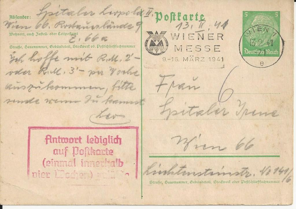 Österreich im III. Reich (Ostmark) Belege - Seite 17 Bild158