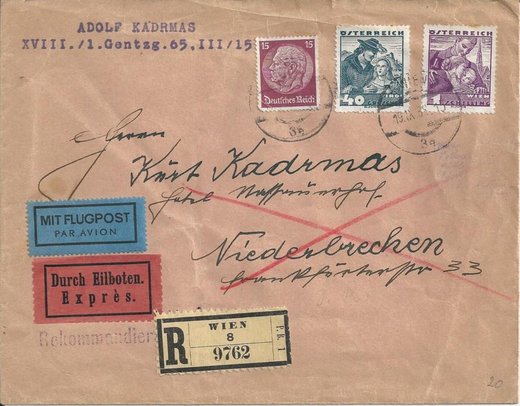 Österreich im III. Reich (Ostmark) Belege - Seite 18 Bild160