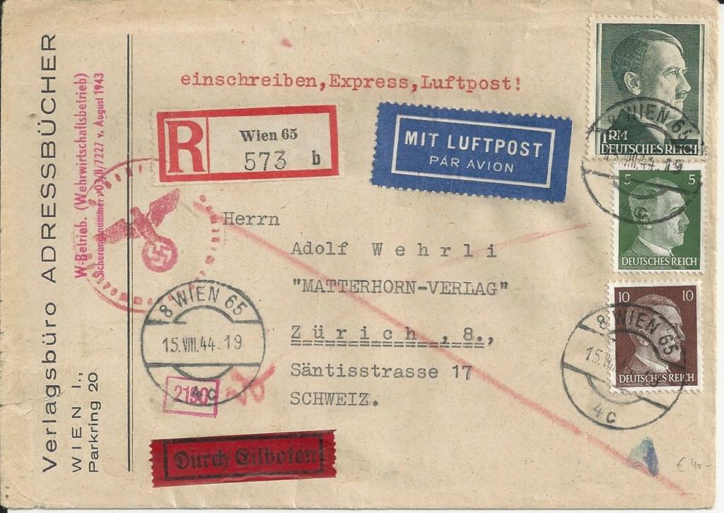 Österreich im III. Reich (Ostmark) Belege - Seite 18 Bild163