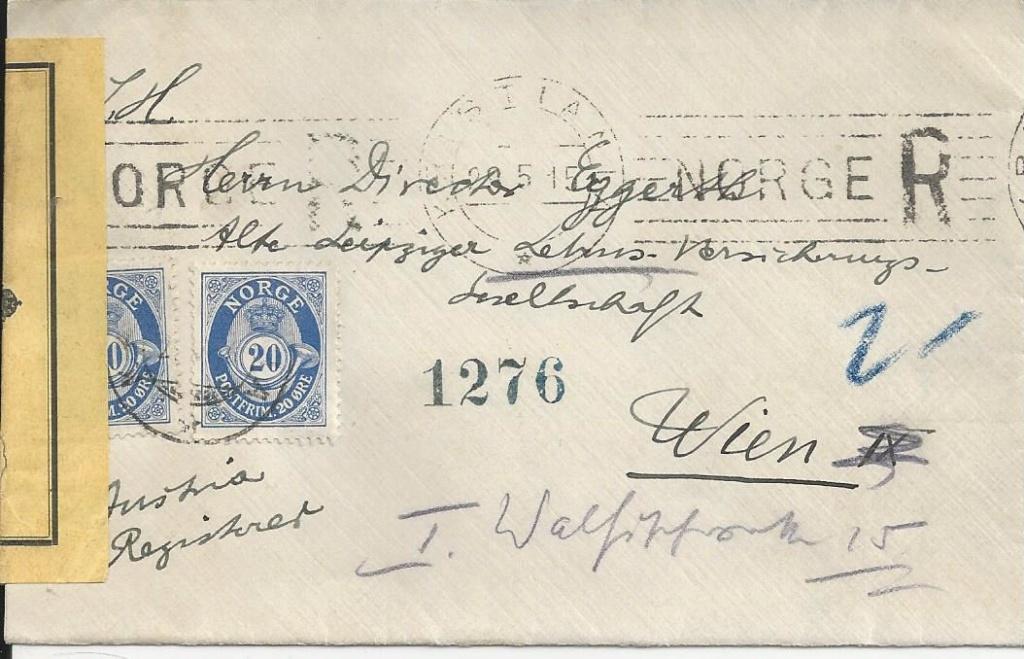 Zivilpost-Zensur in Osterreich 1914-1918 Bild171