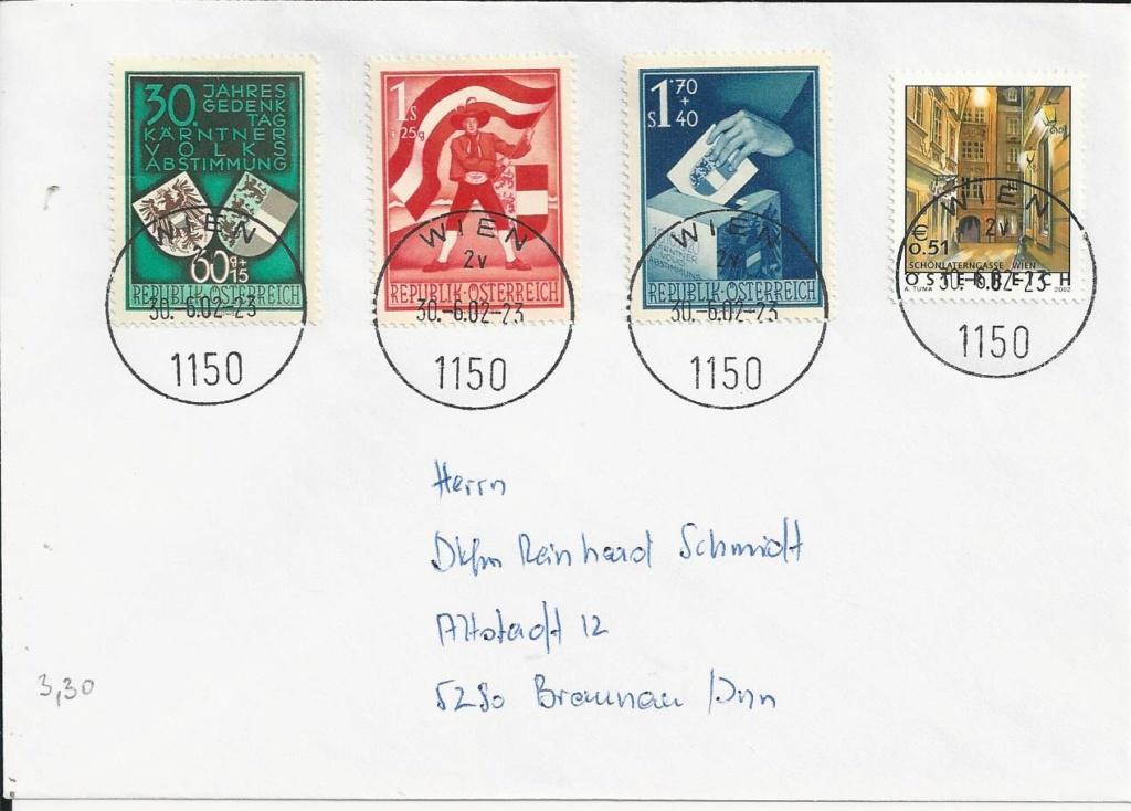 1945 - Sammlung Bedarfsbriefe Österreich ab 1945 - Seite 15 Bild177