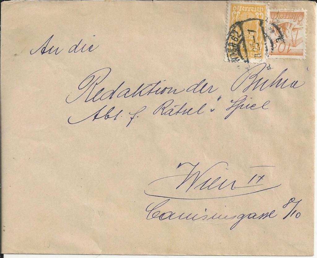 Inflation in Österreich - Belege - 1918 bis 1925 - Seite 23 Bild180