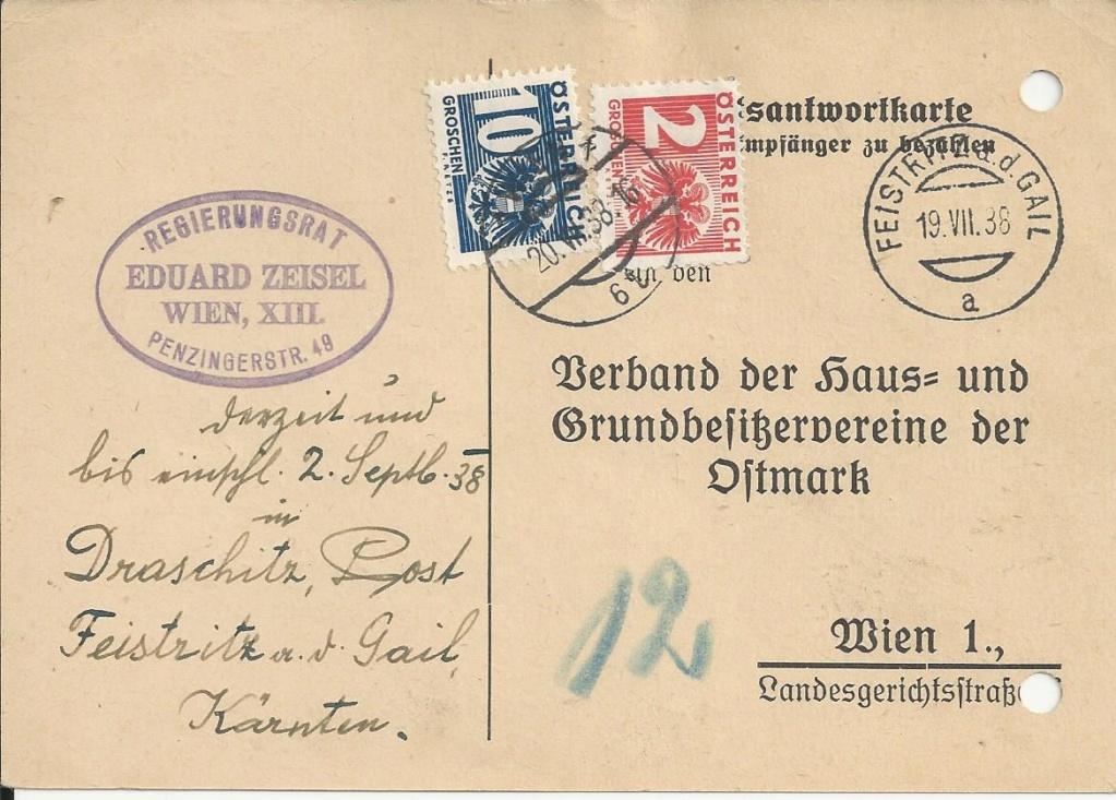 Österreich im III. Reich (Ostmark) Belege - Seite 18 Bild187