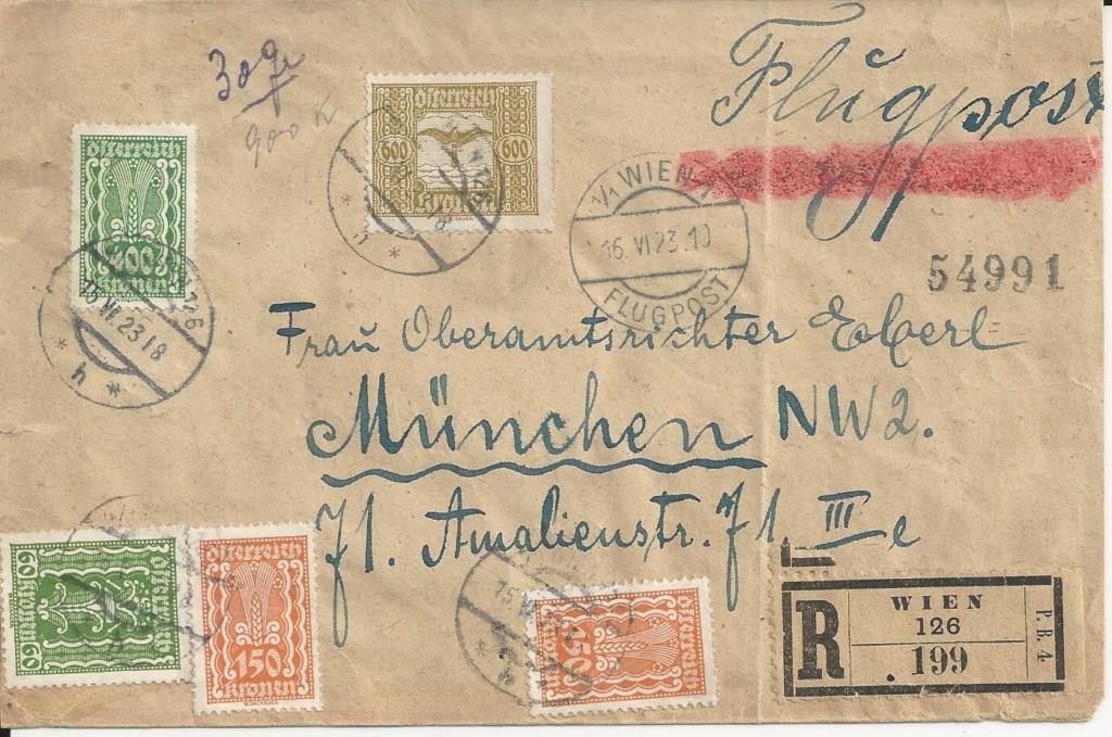 Inflation in Österreich - Belege - 1918 bis 1925 - Seite 23 Bild189