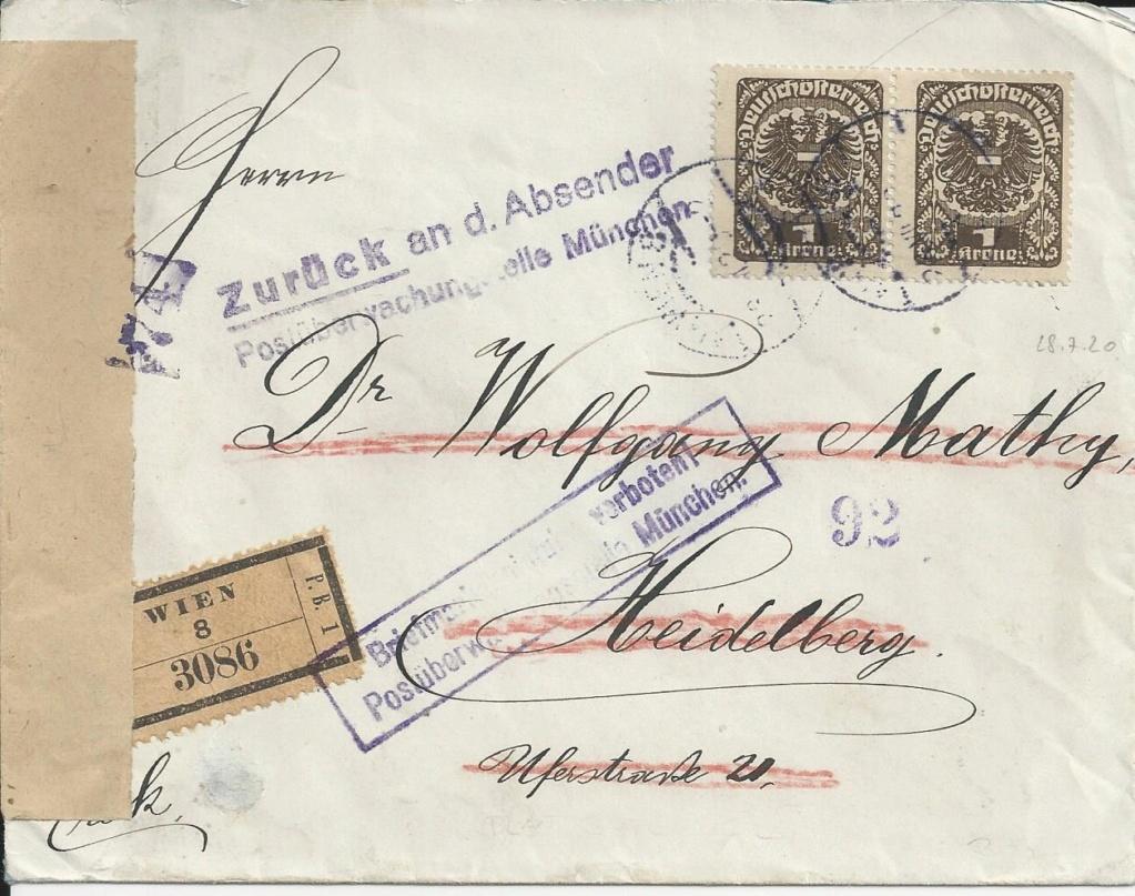 Inflation in Österreich - Belege - 1918 bis 1925 - Seite 23 Bild192