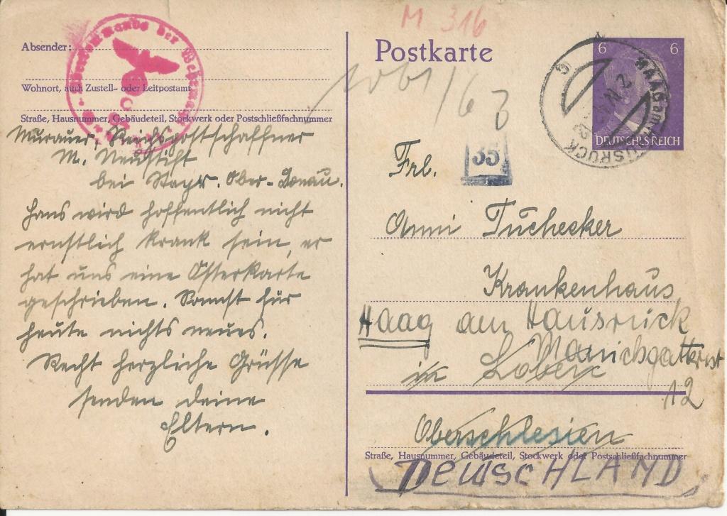 Zensuren unter deutscher Herrschaft bis 1945 - Seite 2 Bild193