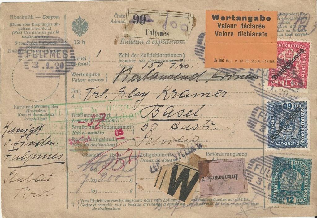 Inflation in Österreich - Belege - 1918 bis 1925 - Seite 23 Bild195