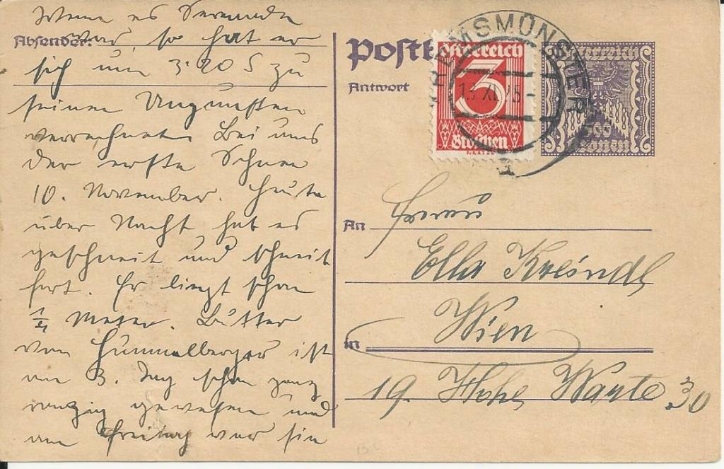"""Postkartenserie """"Quadratischer Wertstempel - Wertziffer im Dreieck"""" 1922-24 - Seite 5 Bild202"""