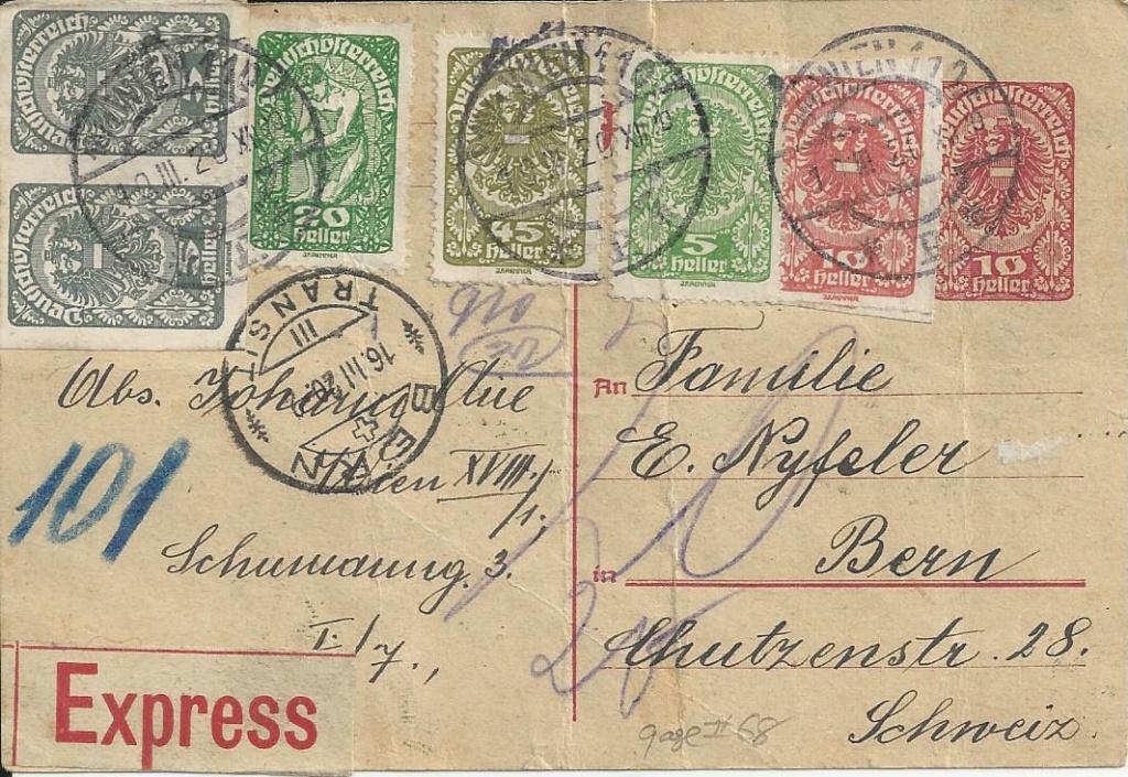 Inflation in Österreich - Belege - 1918 bis 1925 - Seite 23 Bild203