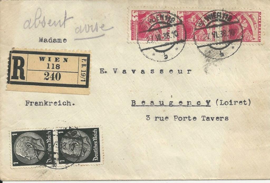 Österreich im III. Reich (Ostmark) Belege - Seite 19 Bild204