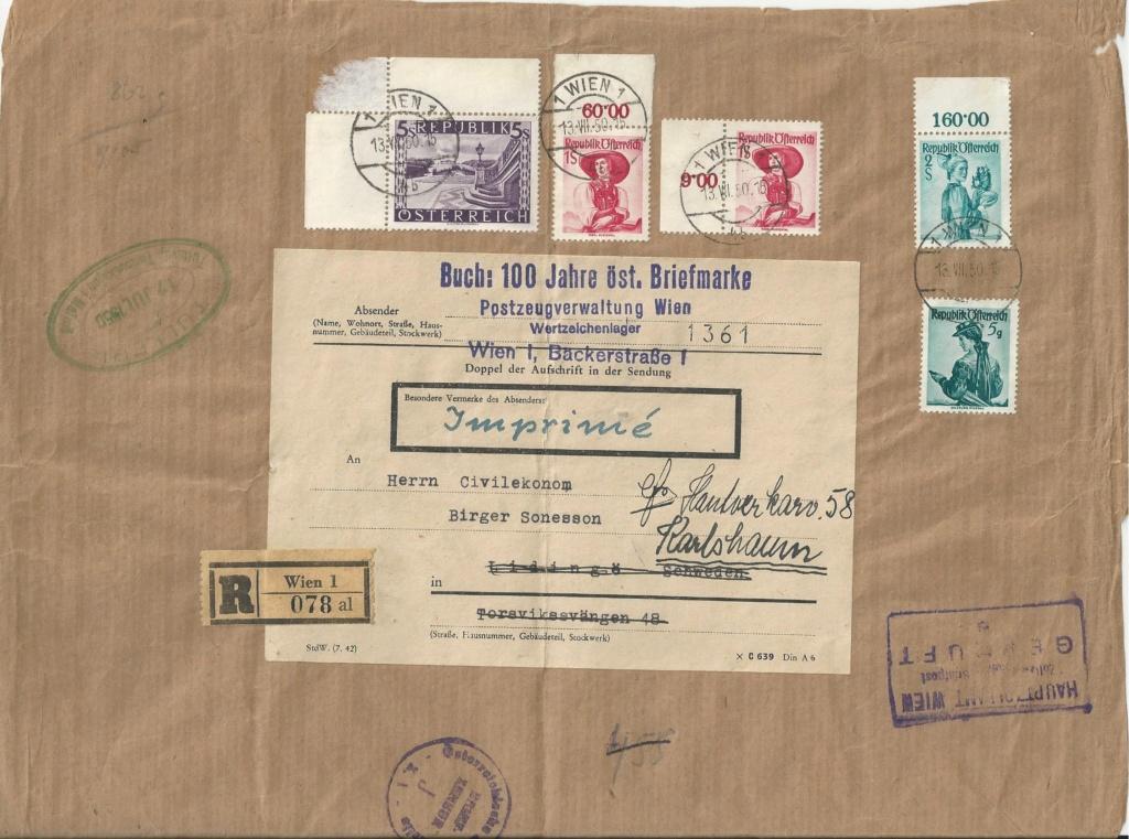 Trachtenserien ANK 887 - 923 und 1052 - 1072 Belege - Seite 11 Bild21