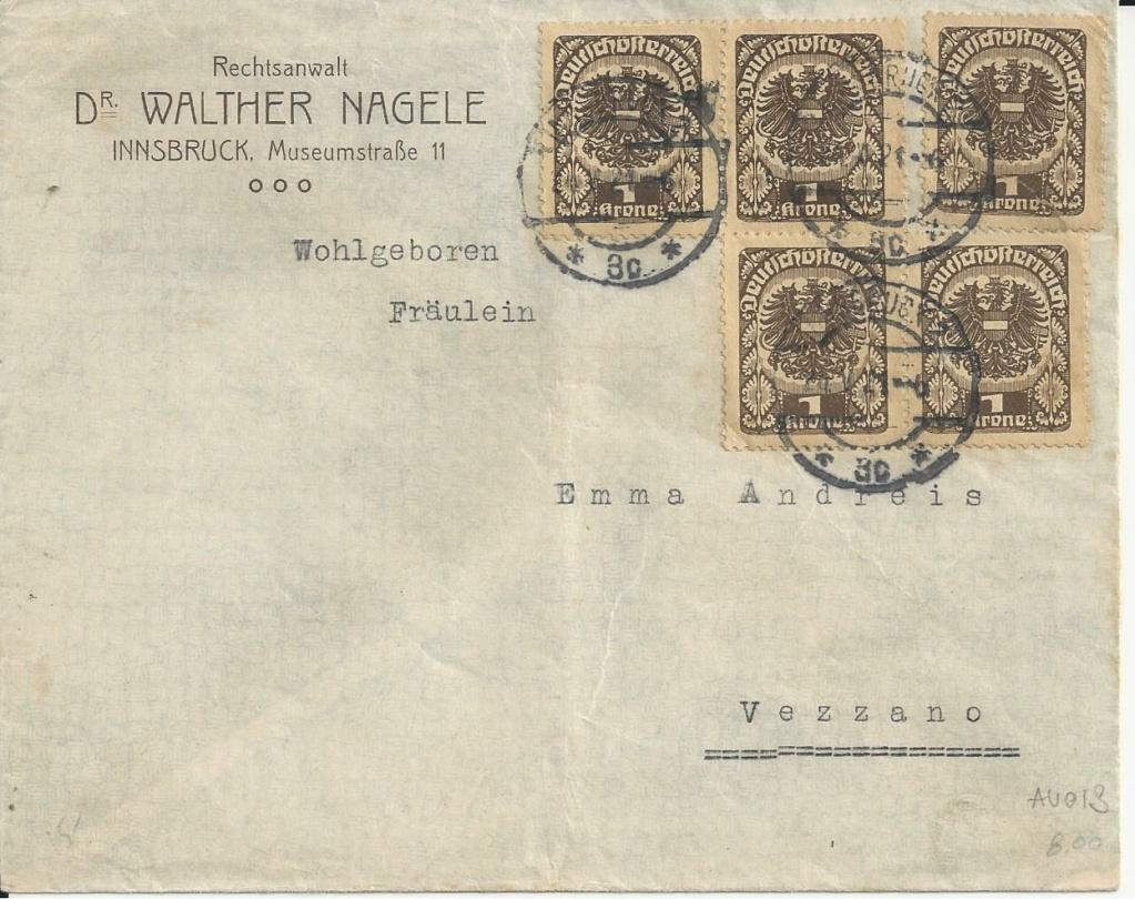 Inflation in Österreich - Belege - 1918 bis 1925 - Seite 24 Bild216