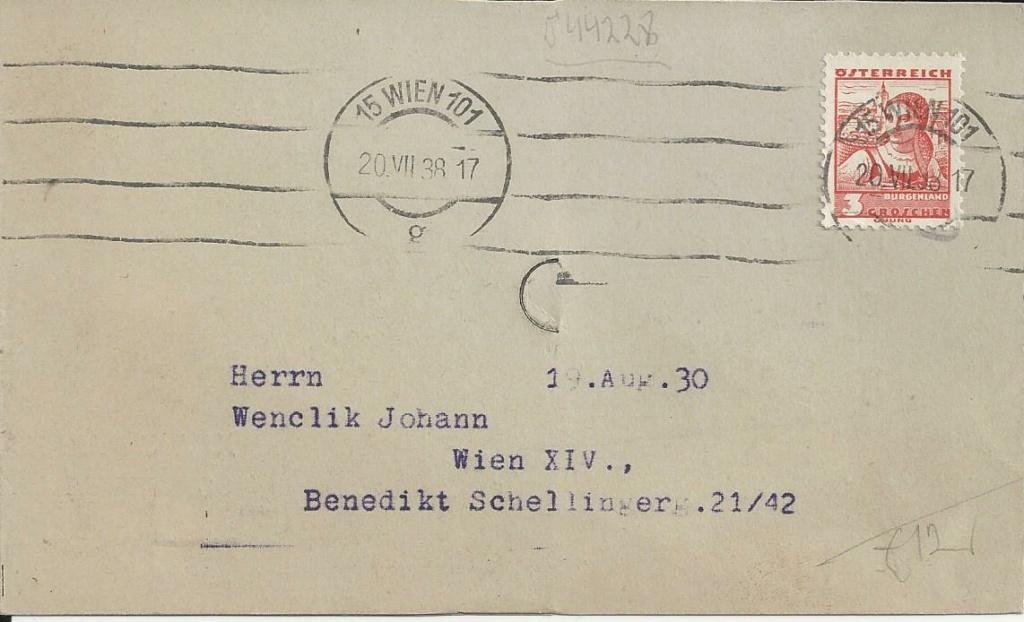 Österreich im III. Reich (Ostmark) Belege - Seite 21 Bild226