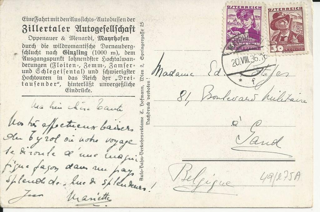 Werbeumschläge und -karten aus Österreich - Seite 8 Bild230