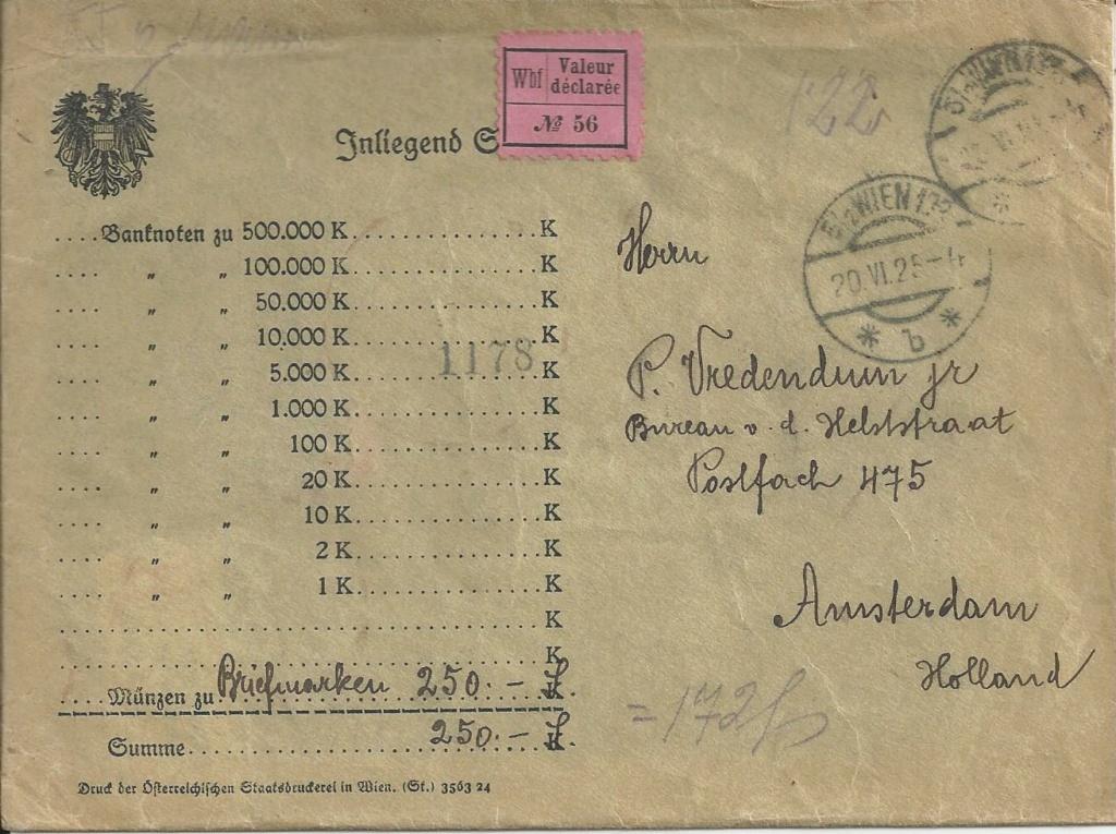 Wertbriefe - Geldbriefe Österreich - Seite 2 Bild239
