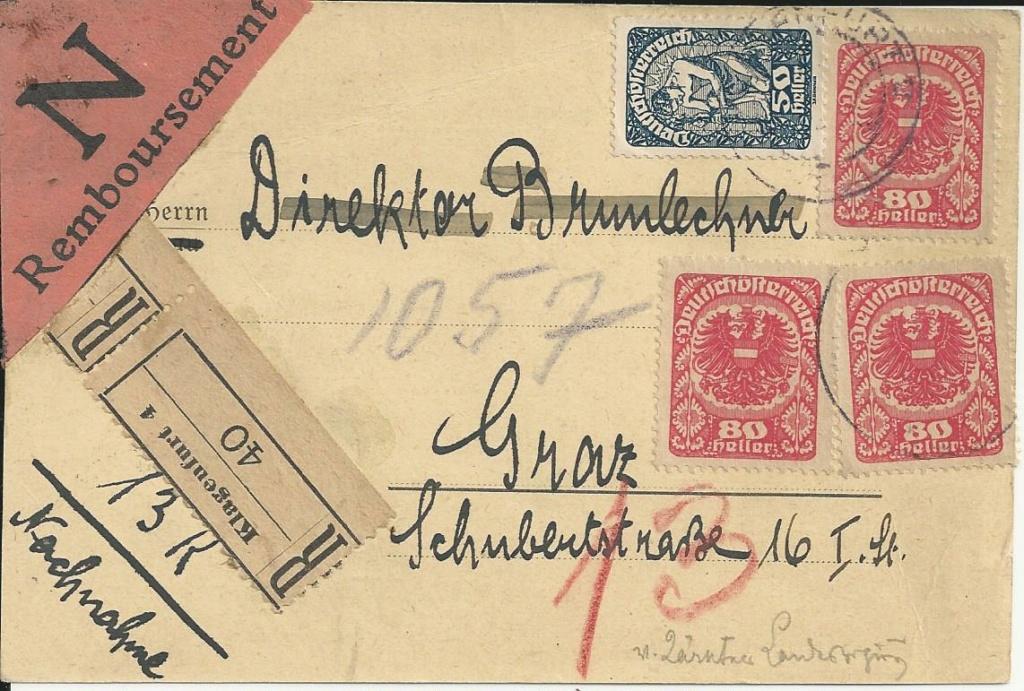 Inflation in Österreich - Belege - 1918 bis 1925 - Seite 24 Bild240