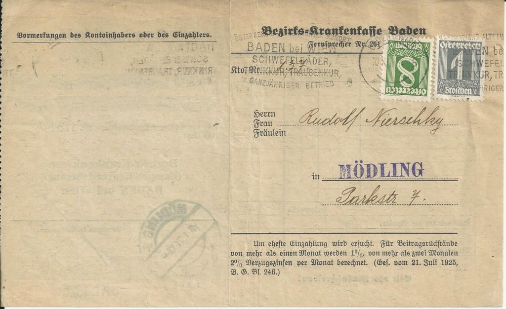 Österreich 1925 - 1938 - Seite 16 Bild264