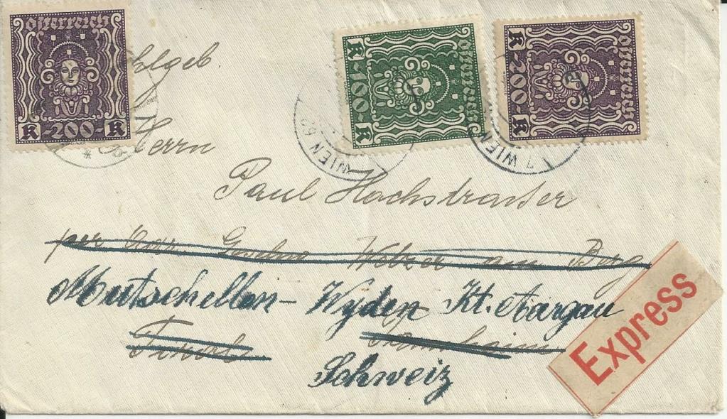 Inflation in Österreich - Belege - 1918 bis 1925 - Seite 26 Bild267